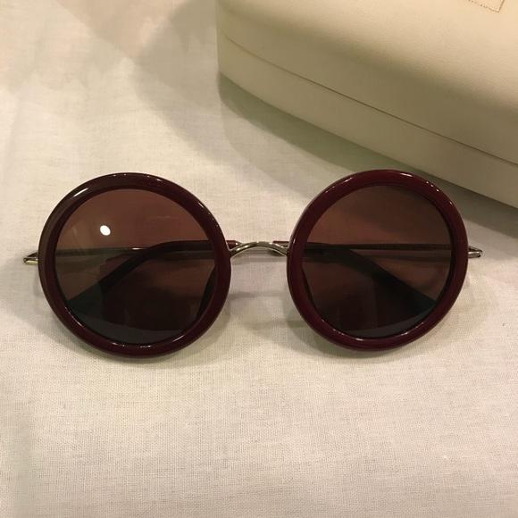 059bd7767f9 Linda Farrow The Row Round Sunglasses